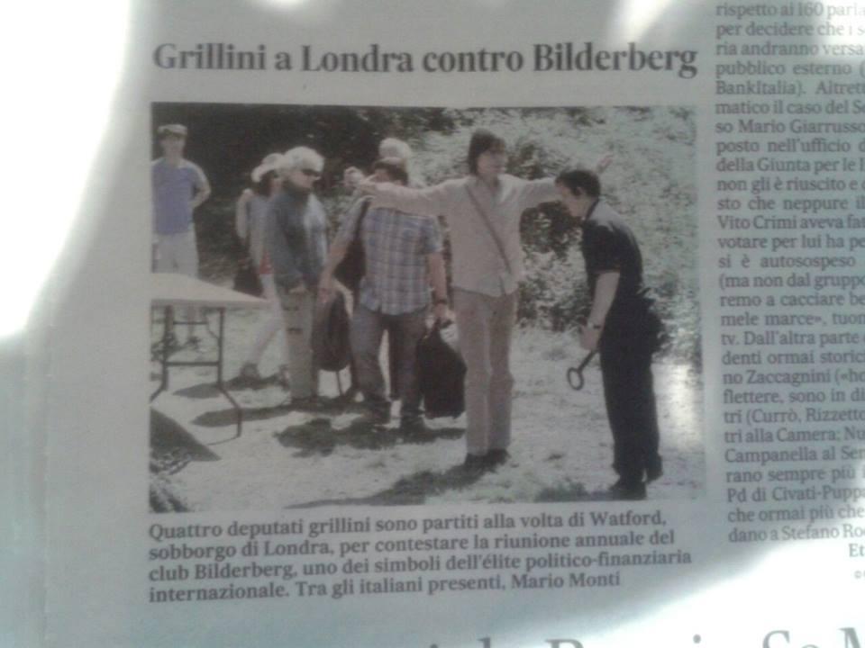 Carlo articolo Londra